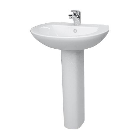 550mm Basin and Full Pedestal