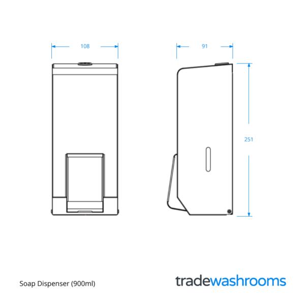 PL20MBS - Soap Dispenser