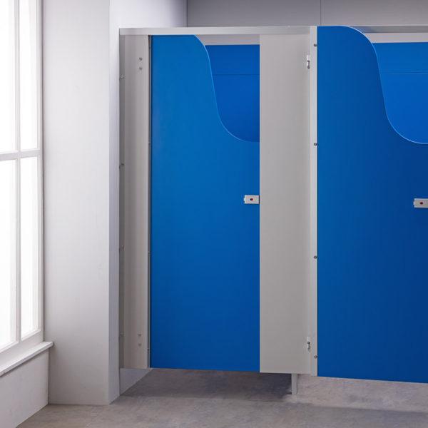 Blue Children's Toilet Cubicle Door Pack
