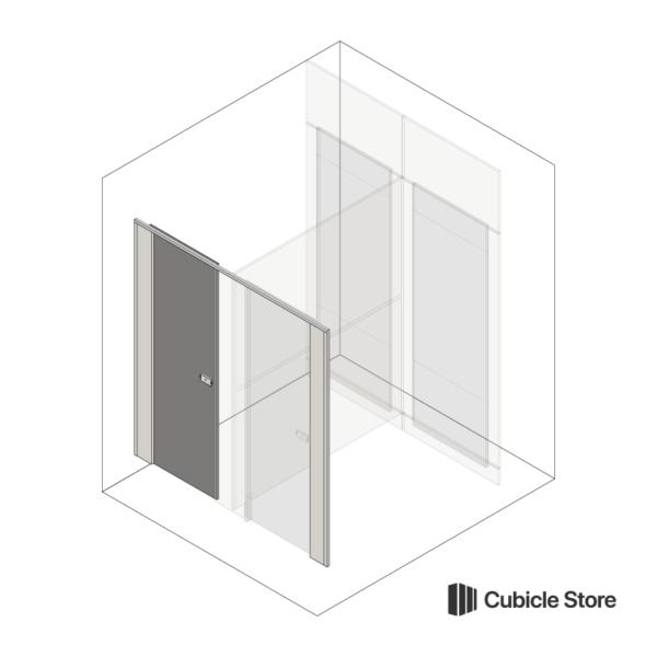 Cubicle Store Toilet Door Pack