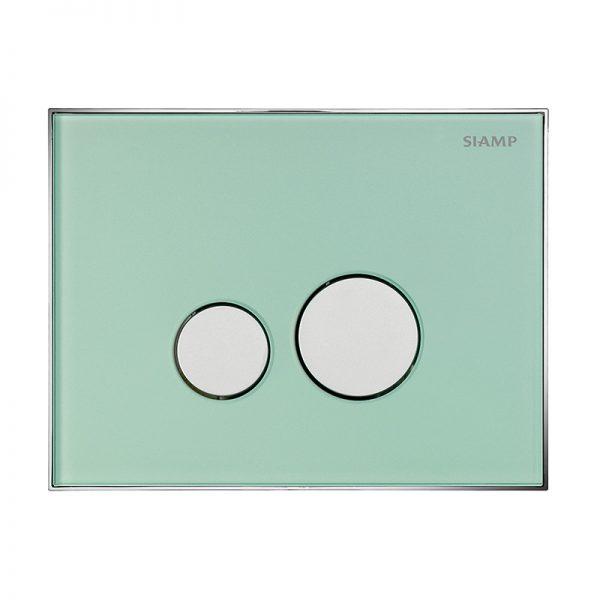 REFLET 360 Flush Plate - Natural Green