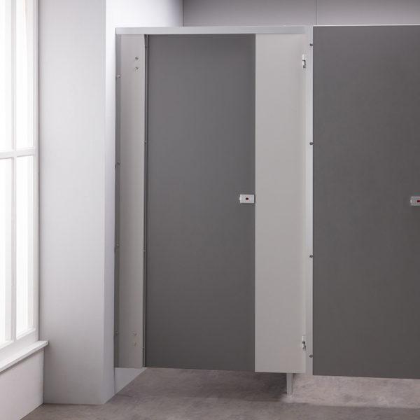 Dust Grey Toilet Cubicle Door Pack