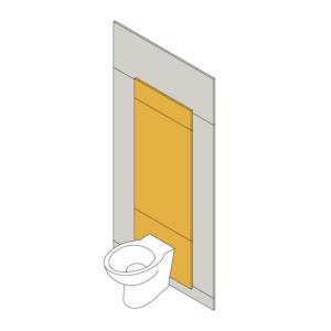 Children's Toilet IPS Panel Pack - Yellow