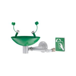 Wall-Mounted Safety Eyewash Station